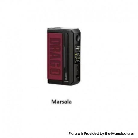 Authentic Voopoo Drag 3 177W VW Box Mod - Marsala, 5~177W, 2 x 18650, GENE.FAN 2.0 Chip