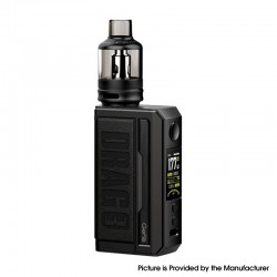 Authentic Voopoo Drag 3 177W VW Mod + TPP Tank Kit - Classic, 5~177W, 2 x 18650, GENE.FAN 2.0 Chip, 5.5ml, 0.15ohm / 0.2ohm