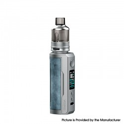 Authentic Voopoo Drag X Plus 100W VW Pod Mod + TPP Tank Kit - Prussian Blue, 5~100W, 1 X 21700 / 18650, GENE.FAN 2.0 Chip, 5.5ml