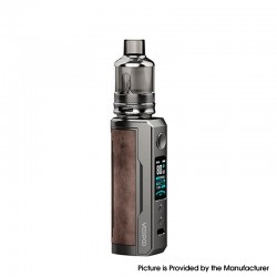 Authentic Voopoo Drag X Plus 100W VW Pod Mod + TPP Tank Kit - Sandy Brown, 5~100W, 1 X 21700 / 18650, GENE.FAN 2.0 Chip, 5.5ml