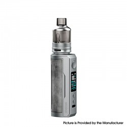 Authentic Voopoo Drag X Plus 100W VW Pod Mod + TPP Tank Kit - Smoky Grey, 5~100W, 1 X 21700 / 18650, GENE.FAN 2.0 Chip, 5.5ml