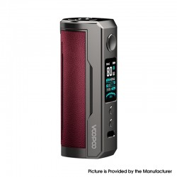 Authentic Voopoo Drag X Plus 100W VW Variable Wattage Pod Mod - Marsala, 5~100W, 1 X 21700 / 18650, GENE.FAN 2.0 Chip