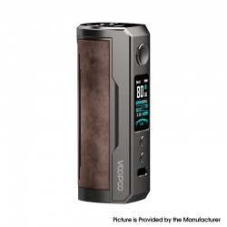Authentic Voopoo Drag X Plus 100W VW Variable Wattage Pod Mod - Sandy Brown, 5~100W, 1 X 21700 / 18650, GENE.FAN 2.0 Chip