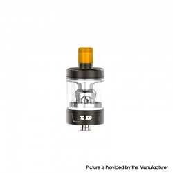 Authentic Eleaf Gzeno S Sub Ohm Tank Atomizer Standard Version - Matte Gunmetal, 4.0ml, 0.8ohm / 0.4ohm, 24.5mm Diameter