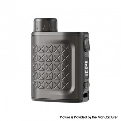 Authentic Eleaf iStick Pico 2 75W VW Variable Wattage Box Mod - Matte Gunmetal, 1~75W, 1 x 18650