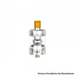 Authentic Eleaf Gzeno S Sub Ohm Tank Atomizer Standard Version - Silver, 4.0ml, 0.8ohm / 0.4ohm, 24.5mm Diameter