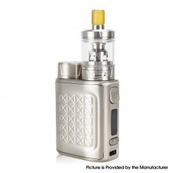 Authentic Eleaf iStick Pico 2 75W VW Box Mod + GZeno S Tank Standard Version Kit - Silver, 1~75W, 1 x 18650, 4.0ml, 0.8ohm