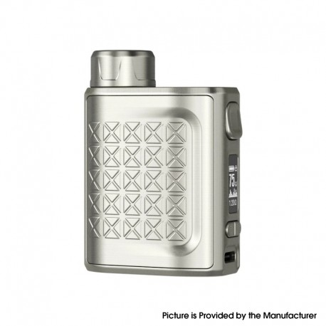 Authentic Eleaf iStick Pico 2 75W VW Variable Wattage Box Mod - Silver, 1~75W, 1 x 18650