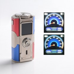 Authentic YIHI T Class 200W TC VW Vape Box Mod - Captain, 5~200W, 212~572'F, YiHi SX580J Chipset, Bluetooth, 2 x 18650