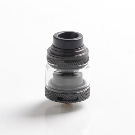 Authentic Advken Mad Hatter RTA Rebuildable Tank Vape Atomizer - Black, 2.0ml, 24mm Diameter