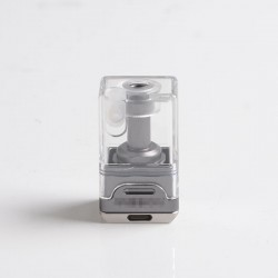 SXK DotMission Style RBA Bridge for DotMod DotAIO AIO Pod - Silver, 1.2 / 2.1 / 3.5mm