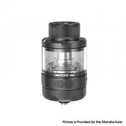 Authentic Damn Vape DOOM X Mesh RTA Rebuildable Tank Vape Atomizer - Gunmetal, 5.5ml / 8.0ml, 3D Liquid Flow, 26mm Diameter