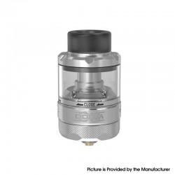 Authentic Damn Vape DOOM X Mesh RTA Rebuildable Tank Vape Atomizer - SS, 5.5ml / 8.0ml, 3D Liquid Flow, 26mm Diameter