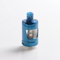 Innokin Zlide Sub Ohm Tank Atomizer Vape Clearomizer - Blue, SS + Glass, 1.2ohm / 0.8ohm, 4.0ml, 24mm Diameter
