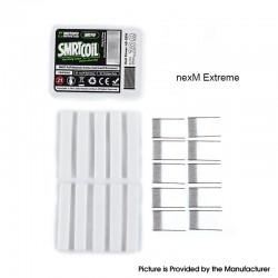 Authentic Wotofo SMRT Pod System Starter Kit / Pod Cartridge Replacement PnP nexMESH Extreme Mesh + Cotton Strip - (10 PCS)
