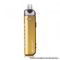 Authentic Wotofo SMRT 2000mAh 80W Pod System Starter Kit - Gold, VW 5~80W, 4.5ml Pod Cartridge