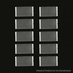 Authentic Steam Crave Aromamizer Plus V2 RDTA Replacement Mesh Strip Coil - 0.14ohm, SS316L (10 PCS)