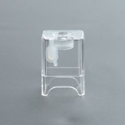 Replacement PCTG Tank Tube for ULTON Dotshell / DotMission Style RBA - Transparent