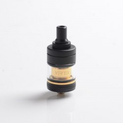 Authentic Hellvape Vertex MTL RTA Rebuildable Tank Vape Atomizer - Black Gold, 2.0ml / 3.5ml, 22mm Diameter