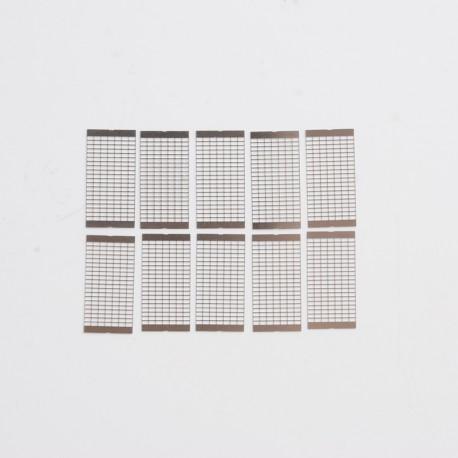 Authentic Wotofo NexMESH SUS316L Mesh Sheet Coil for Profile 1.5 RDA / Profile RDTA - 0.15ohm (10 PCS)