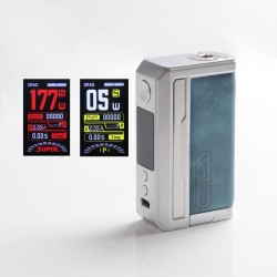Authentic Voopoo Drag 3 177W VW Box Mod - Prussian Blue, 5~177W, 2 x 18650, GENE.FAN 2.0 Chip