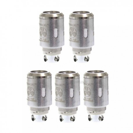 Authentic SMOKTech TF-T3 Triple Coil Heads for TFV4 Tank - Silver, 0.2 Ohm (40~130W) (5 PCS)