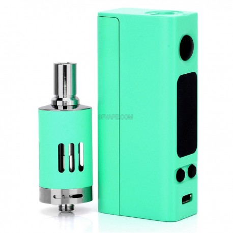 Authentic Joyetech eVic-VTC Mini Temperature Control VW Variable Wattage Full Kit - Cyan, 1~60W, 1 x 18650