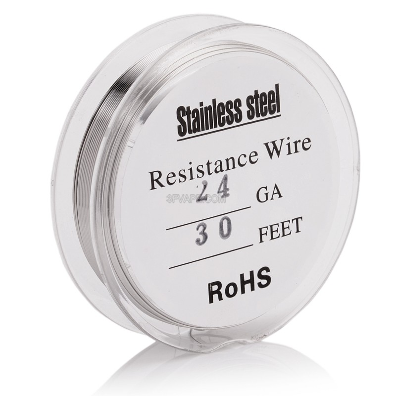 30 awg wire resistance wire center silver 316 stainless steel 24 awg resistance heating wire for rba rh 3fvape com 30 awg wire resistance per foot 24 gauge wire resistance greentooth Image collections
