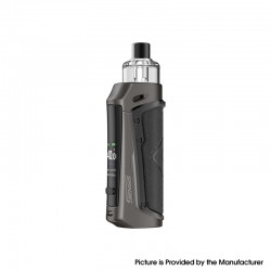 Authentic Innokin Sensis 40W 3000mAh Next-Gen Pod System Vape Mod Kit - Jet Black, 6~40W, 3.1ml Pod Cartridge, 0.25ohm