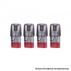 Authentic Elf Bar RF350 Pod System Kit Replacement Pod Cartridge - 1.6ml, 1.2ohm (4 PCS)