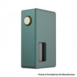 Authentic BP Mods Bushido Squonk Vape Mechanical Box Mod - Green, For 22mm BF RDA, 1 x 18650