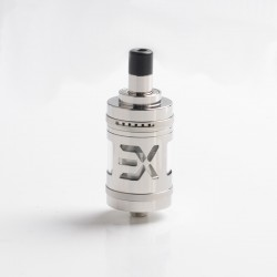 Authentic Fucig Exvape Expromizer V5 MTL RTA Rebuildable Tank Atomizer - Sand Blasting, 2.0ml, SS + Glass + POM, 23mm Diameter