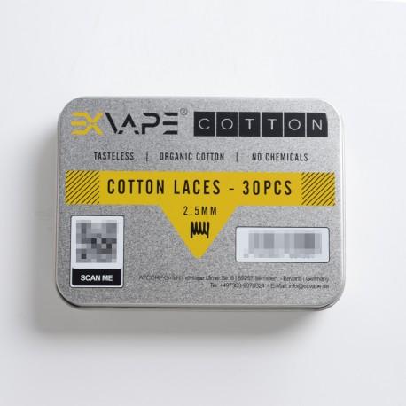 Authentic Fucig EXvape Expromizer V5 MTL RTA Replacement Cotton Laces - (30 PCS)