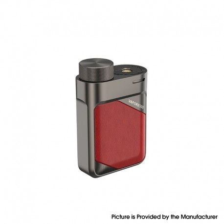 Authentic Vaporesso Swag PX80 80W VW Variable Wattage Box Mod - Imperial Red, 5~80W, 1 x 18650, AXON Chip
