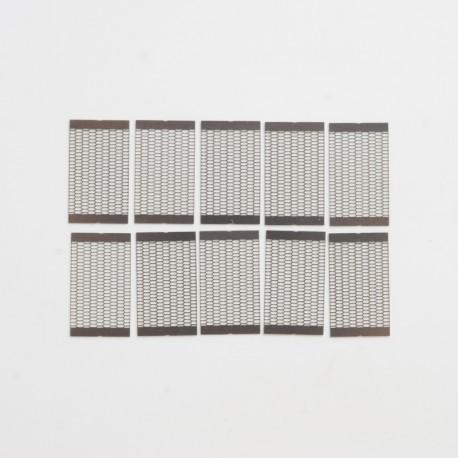 Authentic Steam Crave Aromamizer Plus V2 RDTA Replacement Mesh Strip Coil - 0.15ohm, Ni60 (10 PCS)