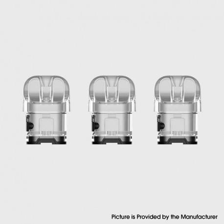Authentic SMOKTech SMOK Novo 4 Pod Kit Replacement Empty Pod Cartridge - Transparent, 2.0ml (3 PCS)