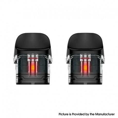 Authentic Vaporesso Luxe Q Pod System Vape Kit Replacement Pod Cartridge w/ 1.2ohm Mesh Coil - 2.0ml (2 PCS)