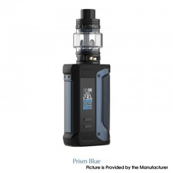 Authentic SMOKTech SMOK Arcfox 230W TC VW Mod + TFV18 Sub Ohm Tank Kit - Prism Blue, 5~230W, 2 x 18650, 7.5ml, 0.33ohm / 0.15ohm