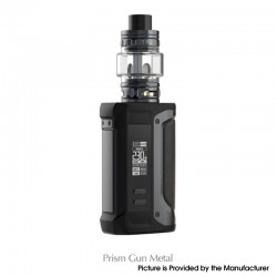 Authentic SMOKTech SMOK Arcfox 230W VW TC Mod + TFV18 Sub Ohm Tank Kit - Prism Gunmetal, 5~230W, 2 x 18650, 7.5ml, 0.33 /0.15ohm