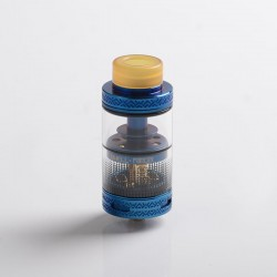 Authentic Uwell Fancier RTA / RDA Rebuildable Dripping Tank Atomizer - Blue, Stainless Steel, 4ml, 24mm Diameter
