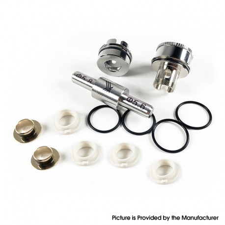 Authentic Vapefly Kriemhild Sub Ohm Tank Rebuildable Meshed Coil Accessories - 1 x Coil Rod, 1 x Frame, 1 x Positive Plate