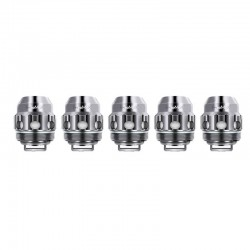 [Ships from HongKong] Authentic FreeMax Twister Replacement TX4 Mesh Coil Head for Fireluke 2 Tank - Silver, 0.15ohm (5 PCS)