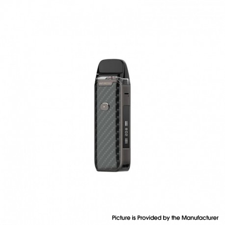 [Ships from HongKong] Authentic Vaporesso Luxe PM40 Pod System Kit - Carbon Fiber, VW 5~40W, 1800mAh, 4.0ml, 0.6ohm / 0.8ohm