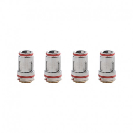 [Ships from HongKong] Authentic Uwell Crown 5 FeCrAl UN2 Single Mesh Coil - 0.23ohm (65~70W) (4 PCS)