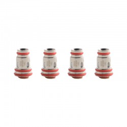 [Ships from HongKong] Authentic Uwell Aeglos Replacement UN2 Meshed-H Coil Head - 0.23ohm (40~45W), DL, (4 PCS)