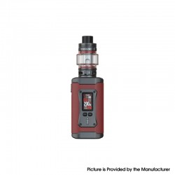 [Ships from HongKong] Authentic SMOK Morph 2 Kit 230W Box Mod with TFV18 Tank - Red, 1~230W, 2 x 18650, 7.5ml, 0.15ohm / 0.33ohm
