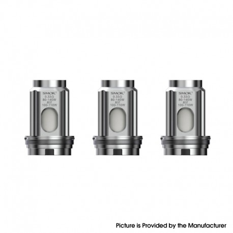 [Ships from HongKong] Authentic SMOKTech SMOK TFV18 Tank Replacement Meshed Coil Head - 0.33ohm (3 PCS)