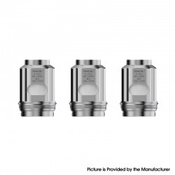[Ships from HongKong] Authentic SMOKTech SMOK TFV18 Tank Replacement Dual Meshed Coil - 0.15ohm (3 PCS)