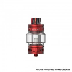 [Ships from HongKong] Authentic SMOK TFV18 Sub Ohm Tank Clearomizer Vape Atomizer - Red, 7.5ml, 0.15ohm / 0.33ohm, 31.6mm