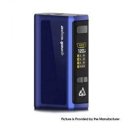 Authentic GeekVape Obelisk 120 FC Z 120W TC VW Variable Wattage Box Mod w/ Fast Charger - Blue, 5~120W, 3700mAh